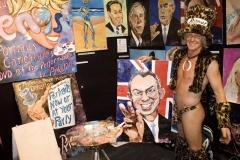 Pricasso exhibe ses toiles