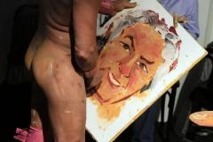 Pricasso en pleine peinture