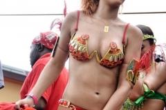 Rihanna en costume sexy