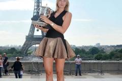 Tour Eiffel - Maria Sharapova sexy