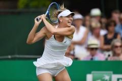 Maria Sharapova en plein match