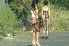 Bord de la route - Photos prostituées
