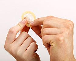 Mettre un préservatif