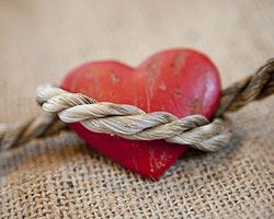 Dépression amoureuse : coeur noué