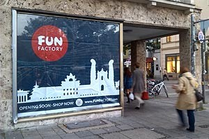 Fun Factory sexshop design à Munich