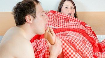 Moment gênant dans le couple