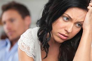 Couple qui se sépare (infidélité)